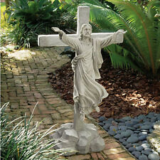 Design Toscano Ascension of Jesus Christ on the Cross Risen Sculpture Statue