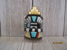 Silver,Signed Make An Offer! Zuni Andrew Dewa Ring, Sterling