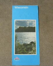 New ListingAmoco map Vintage Wisconsin state map