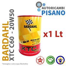 1 LITRO DI OLIO MOTORE ORIGINALE BARDAHL XTC 20W50 C60 313040