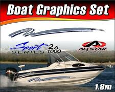 Boat Graphic Sticker Kit, Vinyl stripe decal for Marine or Automotive. SS_2A1800