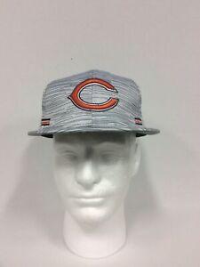 Chicago Bears New Era 9FIFTY Blurred Trick Snapback Hat Cap Men's New