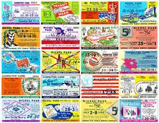 Transportation Ticket Passes - Printed Ticket Stub, Vintage Kansas City Bus Pass