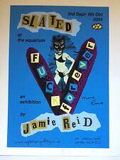 """Jamie Reid, """"choisi"""", signé Exhibition Poster, aquarium Gallery, 2004"""