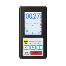 Geiger Counter Nuclear Radiation Detect Personal Dosimeter X Ray Black V6k0