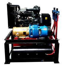 22 Kw / 25 Cfm Spray Foam Rig Diesel Generator Compressor Air Dryer Combo Uni