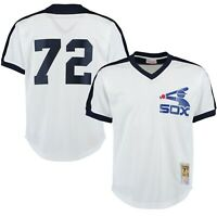 Chicago White Sox Carlton Fisk #72 Mitchell & Ness 1981 Authentic Mesh BP Jersey