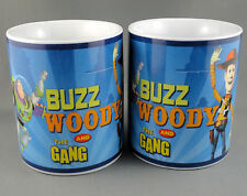 Coffee Mug x 2 Toy Story Buzz Lightyear Woody & Gang Disney Enesco 9oz Canada