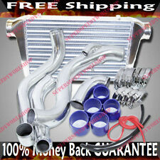 Intercooler+Piping Kits+Clamps+Silicone hoses for 95-99 Nissan 240SX S14 SR20DET