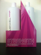 Paul Mitchell Super Strong Shampoo & Conditioner Liter Duo!