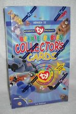 #4015 Unopened Box Ty Beanie Babies Collector's Cards Series II Packs
