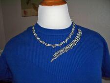 LISNER Silver Rhodium Necklace & Bracelet Set