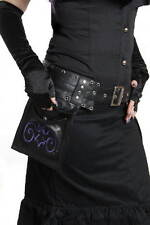 Hilary's Vanity Purple Bat Leather  Holster