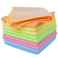 Sinland Wholesale Kitchen Microfiber Dish Cloth Set Cleaning Cloth 12x12 10 Pack