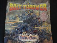 "Bolt Thrower ""Realm Of Chaos"" Original LP. 1st pressing w/booklet. VERY RARE !"