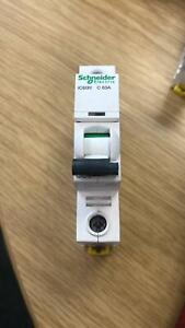 Schneider Electric iC60H C63A Single Pole MCB