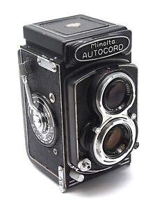 Minolta Autocord 6x6 TLR Camera - 75mm F3.5 Rokkor Lens - UK Dealer