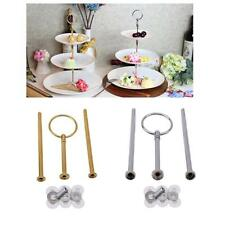 3 Tier Cake Cupcake Stand Fitting Rod Rack Wedding Party LC