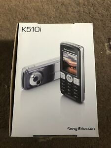 Sony Ericsson K510i (Brand New) VERY RARE Totally Untouched IDEAL FOR COLLECTOR