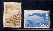Japan  1951  Sc #531-32  MNH  (3-4977)