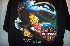 NEW VINTAGE 1993 HAWAII HARLEY DAVIDSON MOTORCYCLE T SHIRT MENS XL