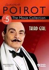 DVD Agatha Christie's Poirot - Third Girl: David Suchet Zoe Wanamaker J Rooper