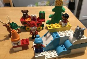 DUPLO SANTAS WINTER HOLIDAY SET 10837 CHRISTMAS LEGO TOYS