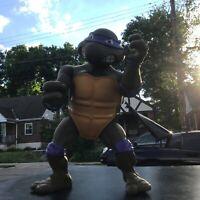 """Vintage Teenage Mutant Ninja Turtles Action Figure 13"""" Donatello Donnie TMNT"""
