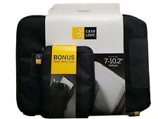 """Case Logic 7""""-10.2"""" Netbook Case with Hard Drive Case, VLSB110 BLACK"""