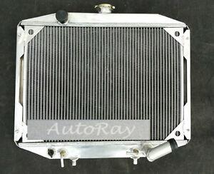 2Row Aluminum Radiator for Mitsubishi Delica Express L300 Starwagon 1986-2007