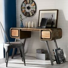 Owo Living Industrial Style Retro Console Table Desk Rustic Furniture