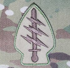 SPECIAL FORCES COMMAND SSI ARMY TACTICAL US MILITARY BADGE MULTICAM HOOK PATCH