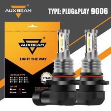 AUXBEAM LED Fog Light Bulbs 9006 HB4 6000K White for 2007-2010 Infiniti G35 G37