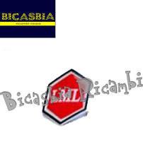 8126 - SCUDETTO COPRISTERZO COPRICLACSON ROSSO LML 125 150 200 STAR DELUX