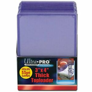 "ULTRA PRO Top Loader 3"" x 4"""
