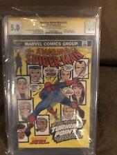 Amazing Spider-Man 121 CGC 5.0 SS Stan Lee & John Romita Sr Death Of Gwen Stacy