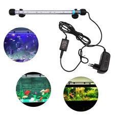 New listing 28cm Aquarium Fish Tank Led Light White Blue Light Strip Bar Submersible Lamp