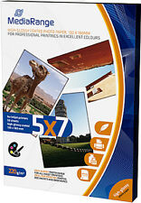 50 Mediarange Foto Papier 13x18 cm hochglanz 220g Tintenstrahl glossy DIN B6