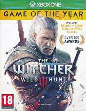 The Witcher 3 III Wild Hunt Game of the Year Complete Edition XBOX ONE Game NEW
