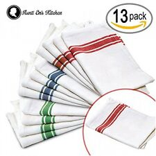 Kitchen Dish Towels with Vintage Design for Kitchen Decor Super Absorbent 100