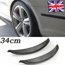 Front Rear Universal Rubber Mud Flaps Splash Guard Arch extension Carbon Fiber