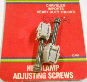 Dorman Help 42189 Headlight Adjusting Screw(s) for 1969-81 Dodge Chrysler Ply
