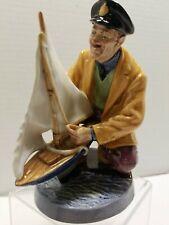 """Vintage 1971 Royal Doulton England """"Sailor's Holiday"""" Hn2442 Porcelain Fig -W-"""