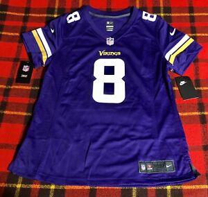 Vikings Kirk Cousins Nike On Field Jersey Womens Size L Large NEW NFL C4