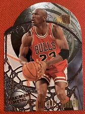 1995 Fleer Metal Maximum Metal Michael Jordan #4 Insert Card Chicago Bulls