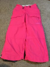 Girls Youth Bonfire Pink Snow Boarding Ski Pants Size Large