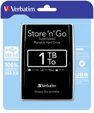 Verbatim Store n Go Portable 1TB USB 3.0 black NEW