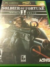 Soldier of Fortune II: Double Helix (Microsoft Xbox, 2003) Complete