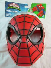 NIP HASBRO MARVEL ULTIMATE SPIDER-MAN SINISTER 6 MASK 2015 RED & BLACK