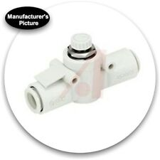 New Smc As1002F-06 Speed Control; In-Line; 6mm Tubing; One-Touch +Free Ship!